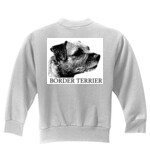 Border Terrier Drawing - Sweat Shirt